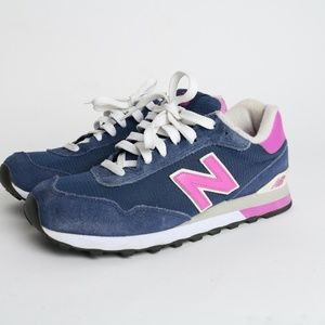 Sold New Balance 515 Shoes Sneakers Pink Blue